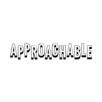 approachable