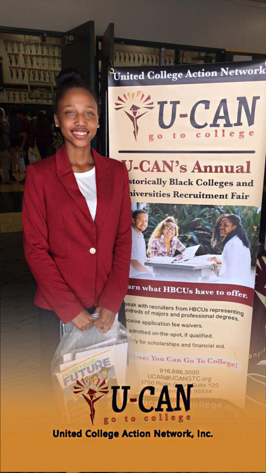 U-CAN's 19th Annual HBCU Recruitment fair at San Juan Unified School District!