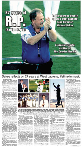 Michael Dukes Tribute Section