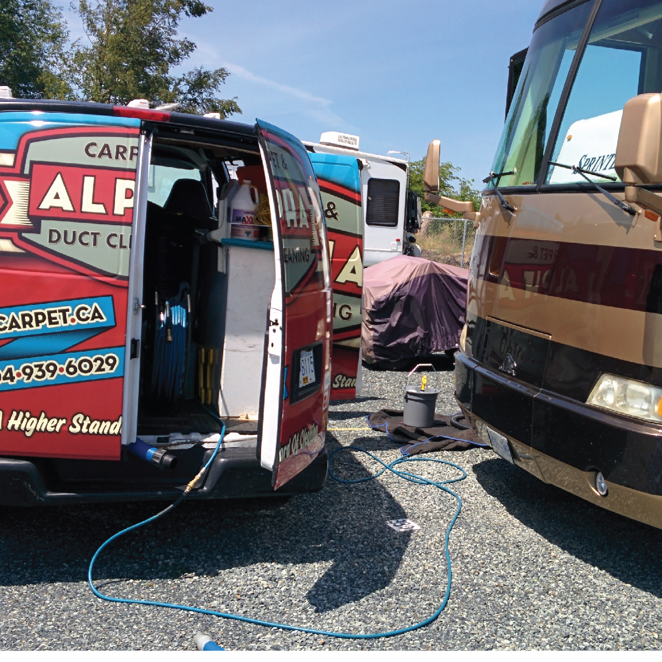 RV Interior Carpet Cleaning
