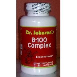 Dr. Johnson's Vitamin B-100 Complex