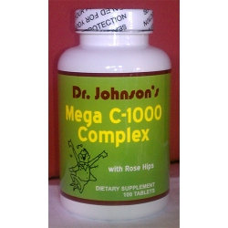 Dr. Johnson's Mega Vitamin C 1000 mg