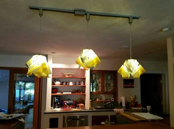3 large pendant lights