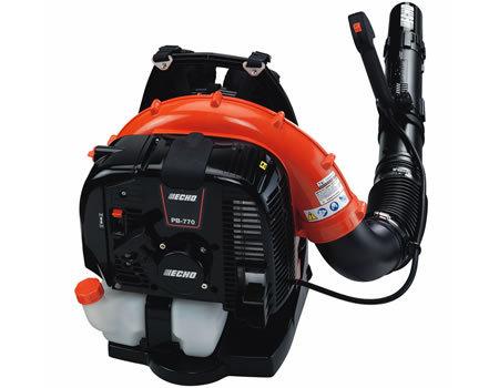 PB-770T un des plus puissant souffleur à dos Echo