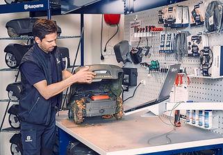 Réparation de petits moteurs