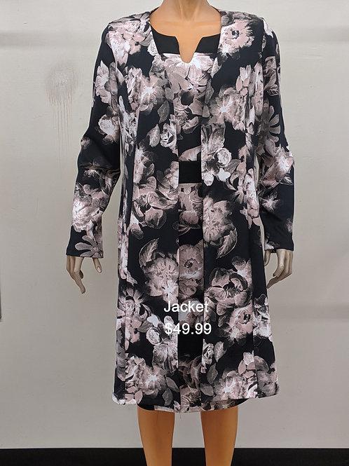 2 pc Duster Jacket Dress
