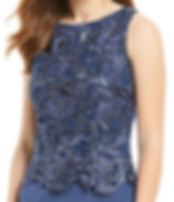 Plus size 2 piece jacket dress - 28058 A