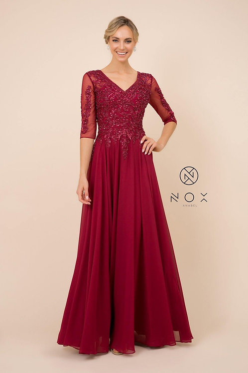 MOTHER OF THE BRIDE EVENING DRESS STYLE H 537