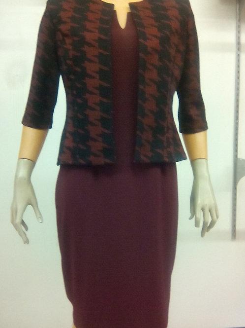 D287/J304 2 Piece Jacket Fully Lined Dress
