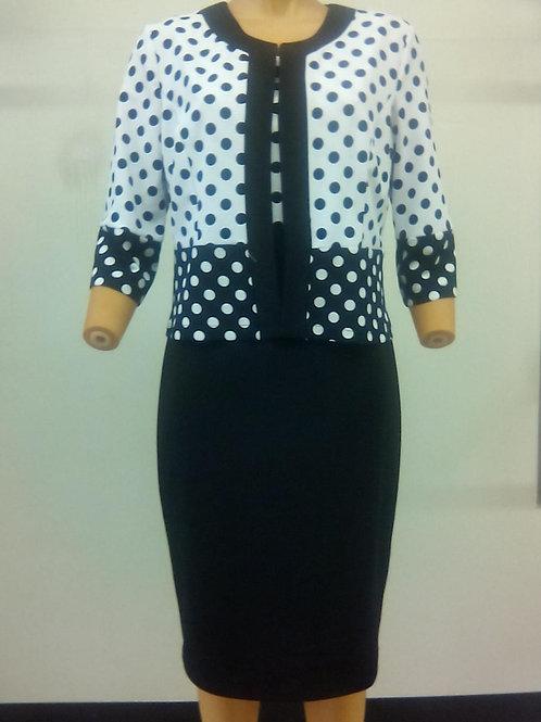 Bolero Jacket dress Style D 322