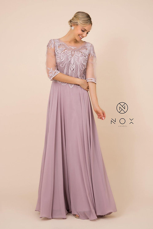 MOTHER OF THE BRIDE EVENING DRESS STYLE Y 512