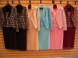 plus size sequence church suits 2