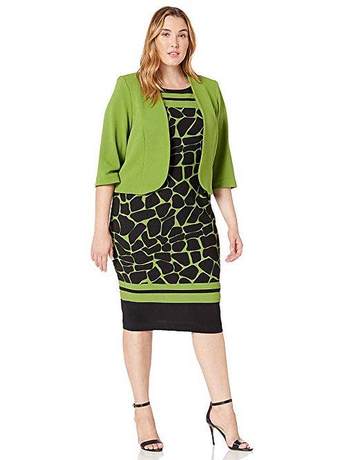 Bolero Jacket Dress Style 28211