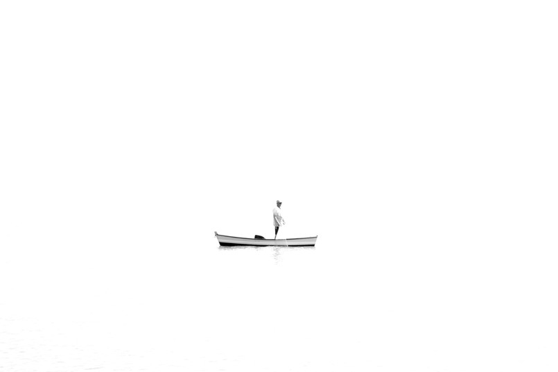 Pescando só