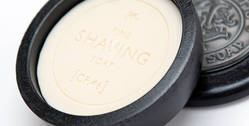 Shaving Soap & Wooden Bowl