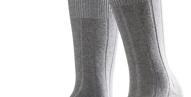 Light Grey Cashmere Blend Socks