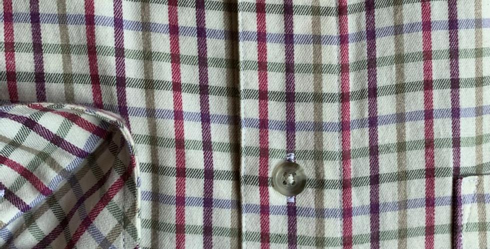 Multi Pink Check Checked Shirt