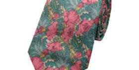 Liberty Print Pink 'Poppy' Tie