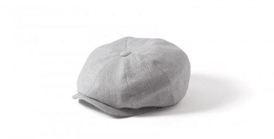 Light Grey Linen 8 Piece Cap