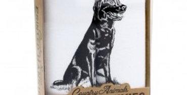 Labrador Hankies Set