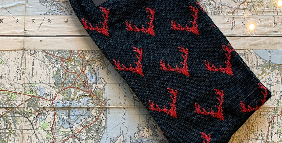 Size 6-11 Green Stag Socks