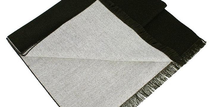 Reversible Black & Grey Scarf