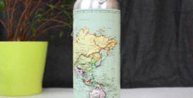 Map Water Bottle