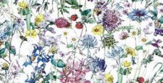 Liberty Print Blues 'Wild Flowers' Pocket Square