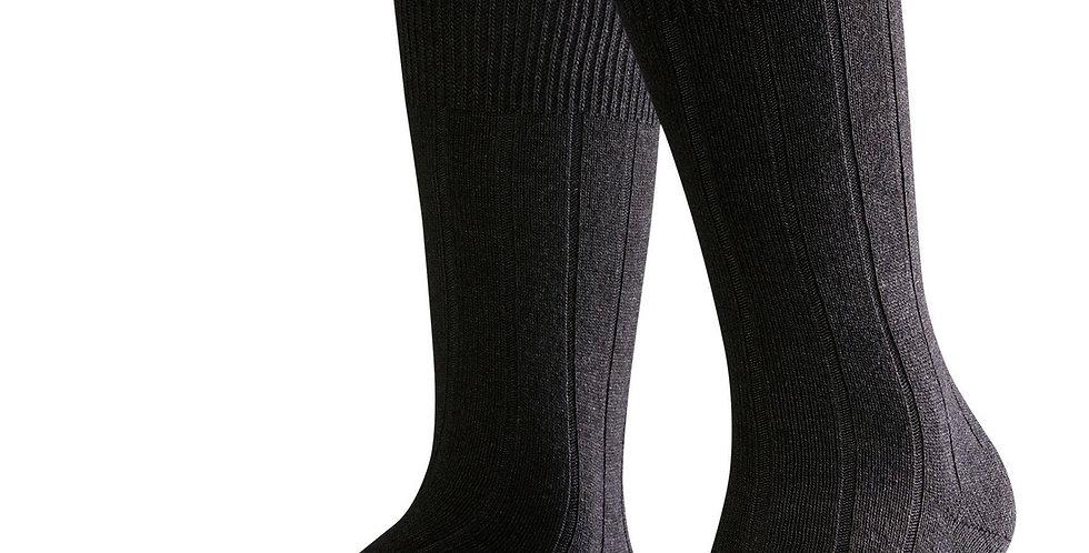 Black Cashmere Blend Socks