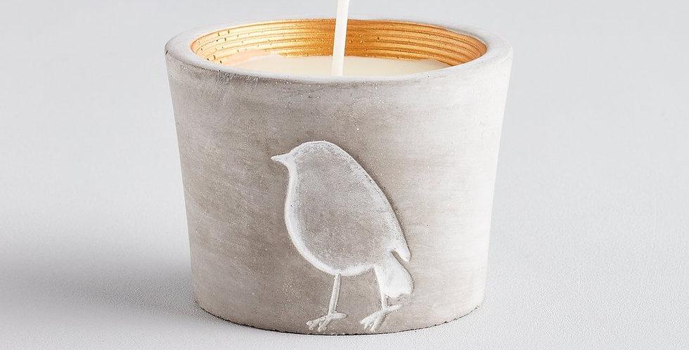 Inspiritus, Winter Wildlife Robin Candle