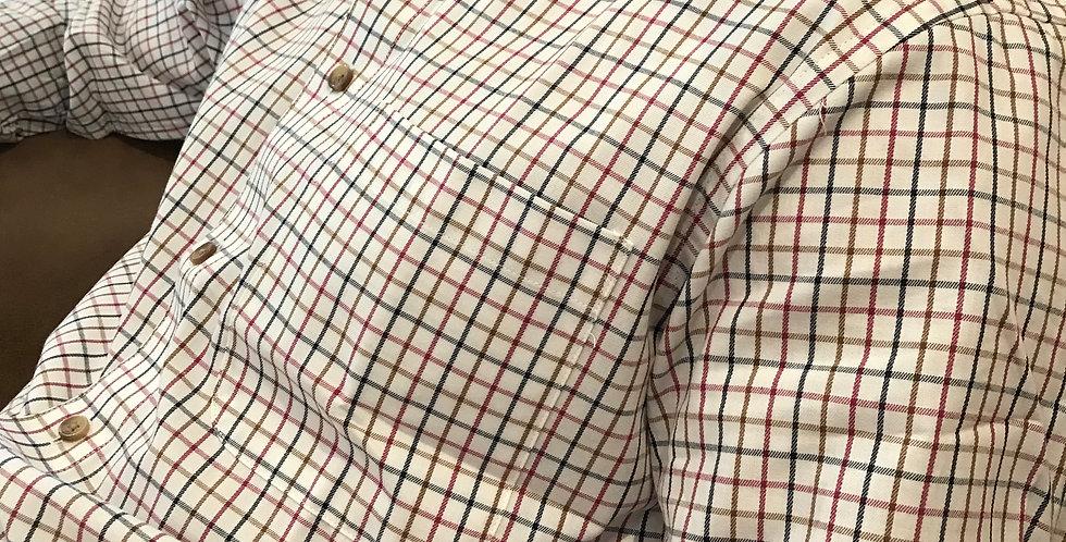 Cherry, Green Checked Shirt