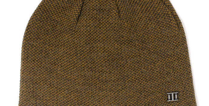 Fine Knitted Mustard Beanie