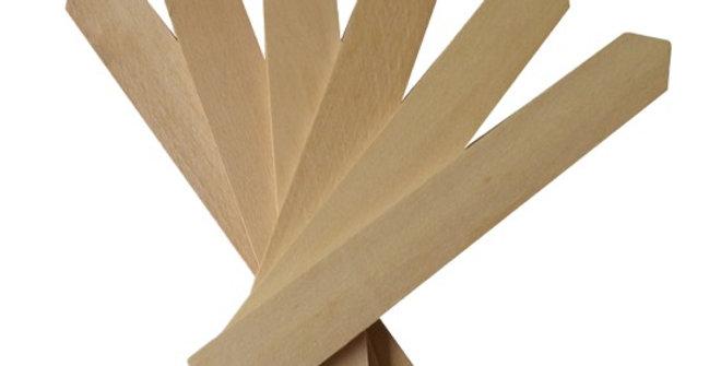 Set Of 5 Wooden Plant Labels