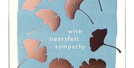 Sympathy Large Card
