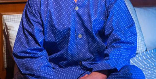 Blue Spots PJ Set