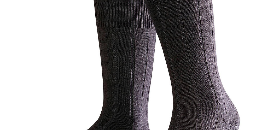 Charcoal Cashmere Blend Socks