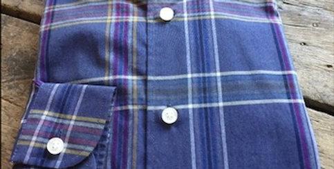 Purple Checked Shirt