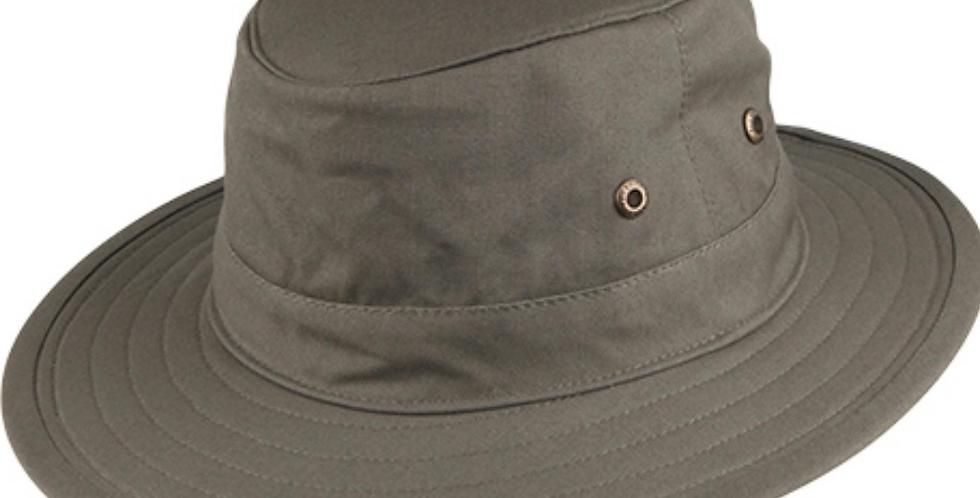 Green Crushable Traveller Sun Hat