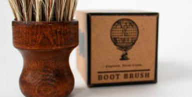 Wooden Boot Brush