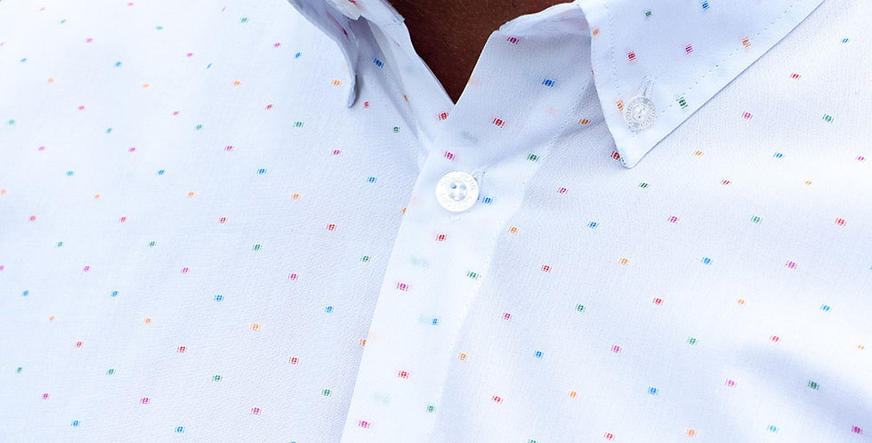 Multi Coloured Spot Shirt
