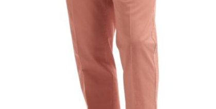 Dusty Peach Chino Trousers
