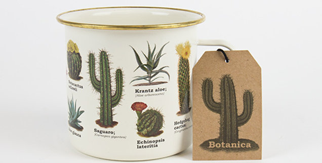 Botanica Enamel Mug