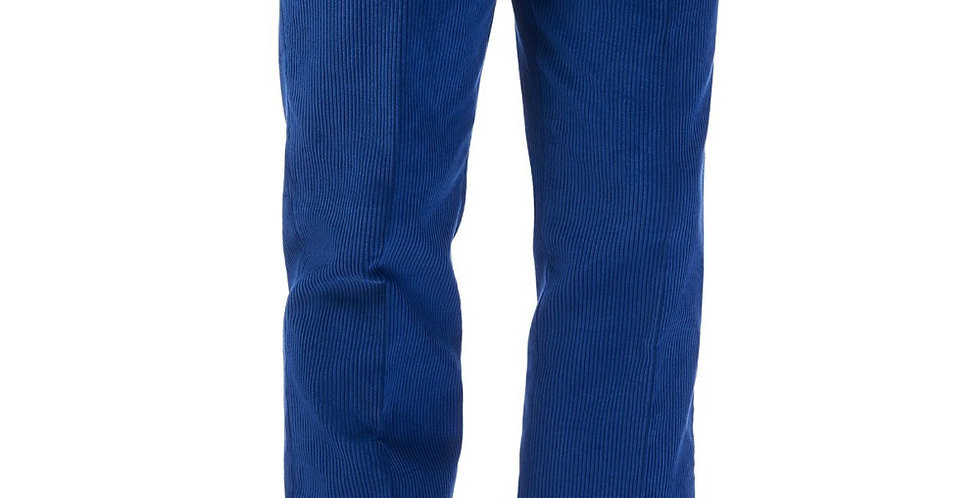 Bright Blue Cord Trousers