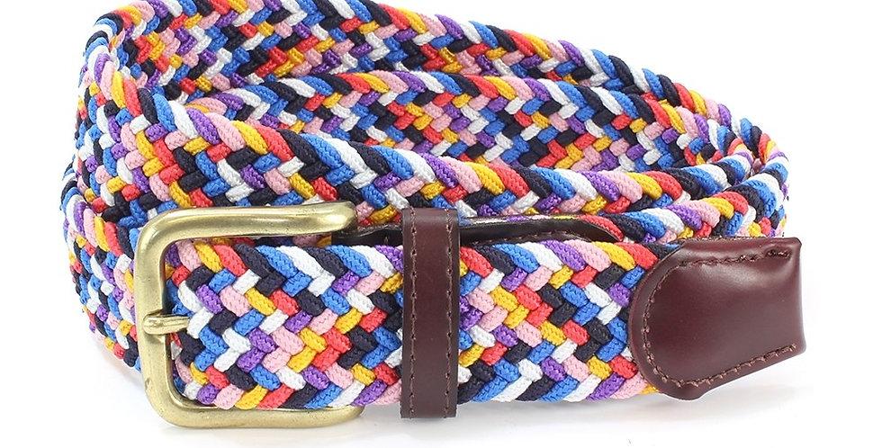 Multi Coloured Woven Belt
