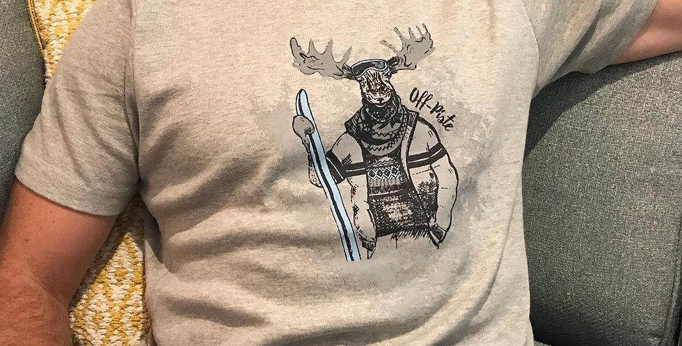 Ski Moose T-Shirt