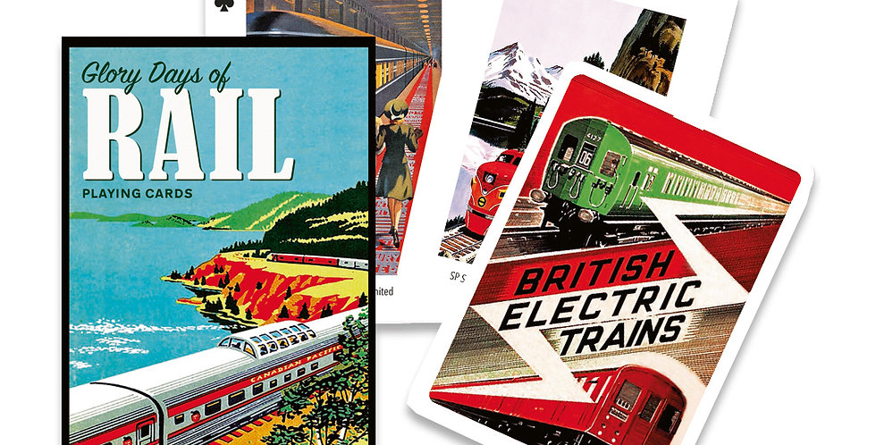 Glory Days of Rail Playing Cards