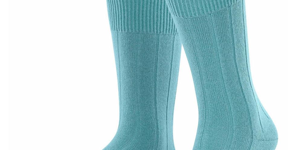 Aquamarine Cashmere Blend Socks