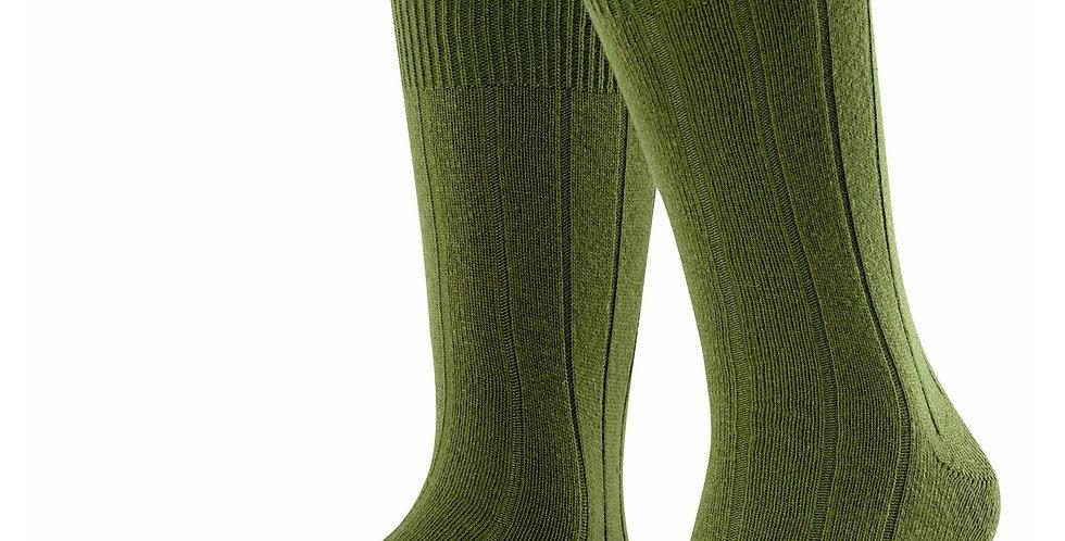 Moss Green Cashmere Blend Socks