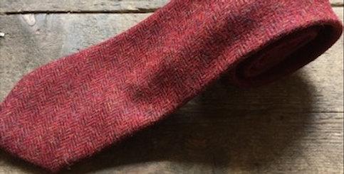 Red Tweed Tie