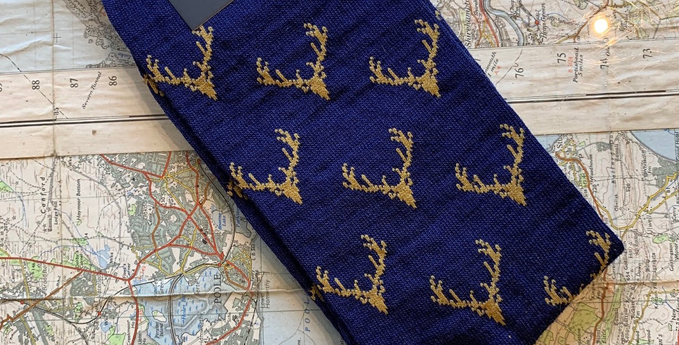 Size 6-11 Blue Stag Socks